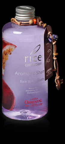aromatic shampoo rice passionfruit rice collection. Black Bedroom Furniture Sets. Home Design Ideas